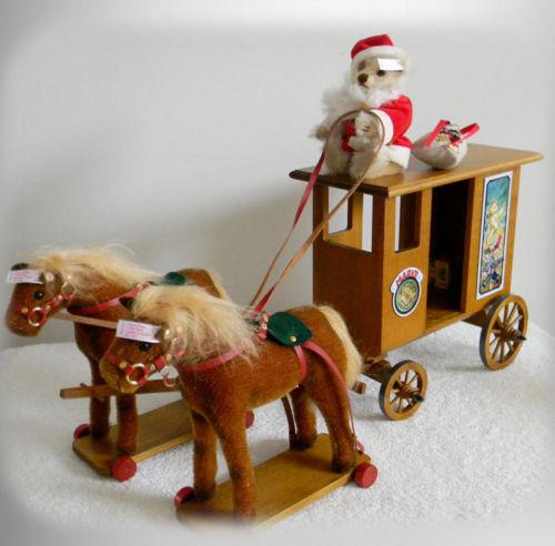 la roulotte du Père Noël