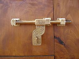 Loquet en bronze en provenance du Ladak