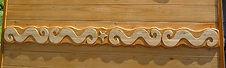frise roulotte en bois