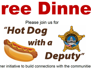 "Sheriff's Foundation Supports ""Hot Dog with a Deputy"" Community Events"
