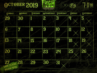 Fright Farm is Back for 2019
