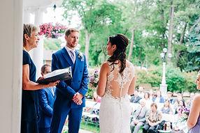 Beautiful wedding at Magrath Mansion