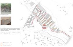 plan des murs de soutènement