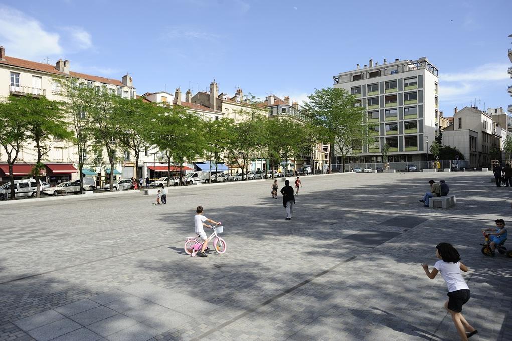 Place Jacquard réaménagée