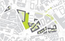 plan masse de la ZAC