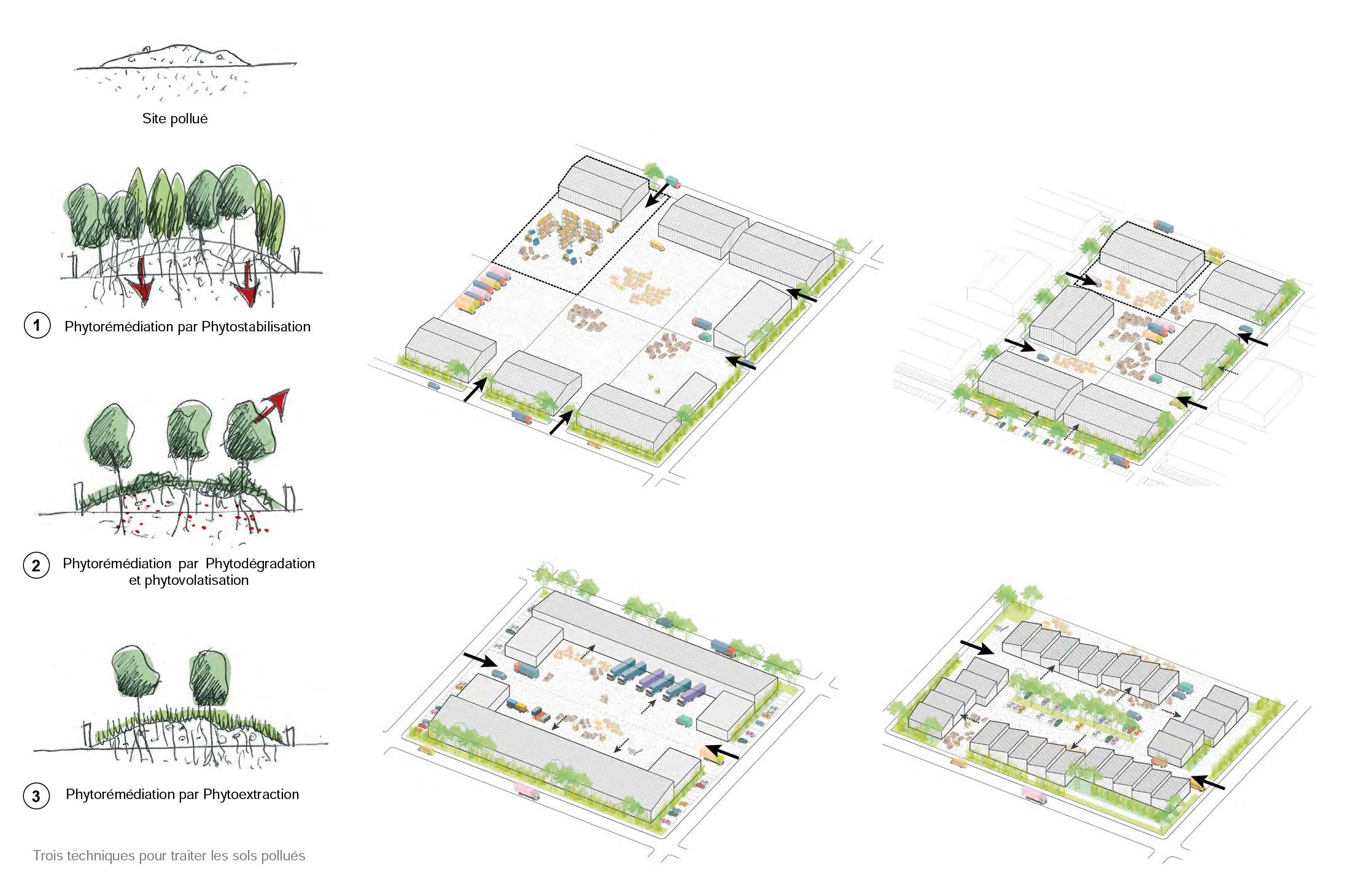 principes urbains et paysagers
