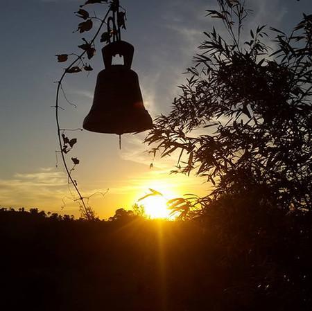 Aproveite pôr-do-sol