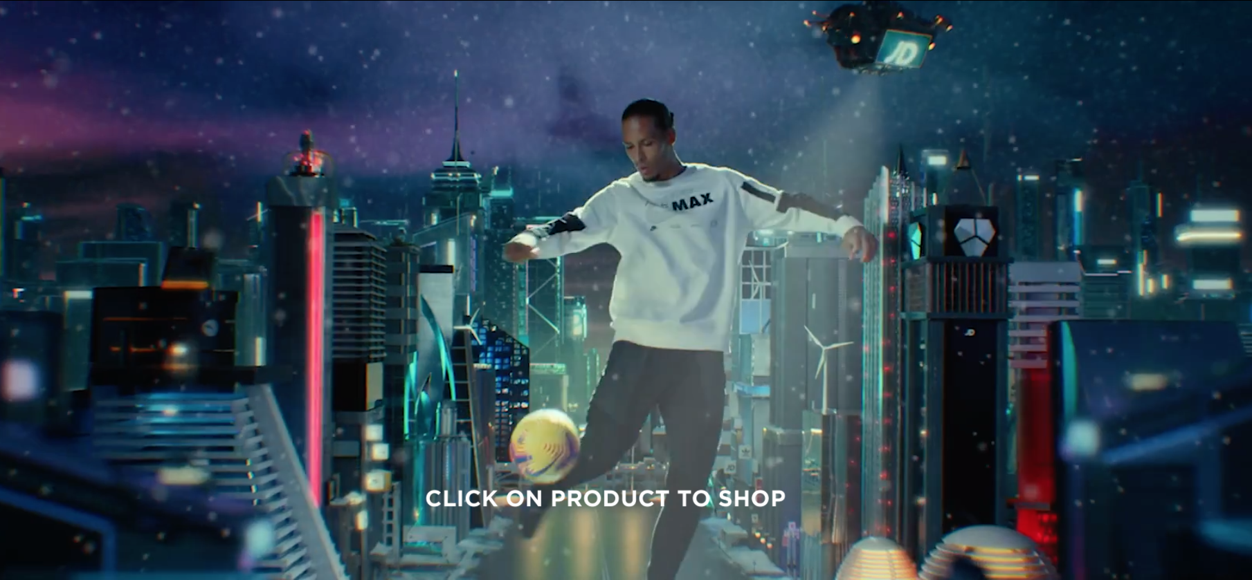 JD Sports Christmas Advert 2020 - credit to Chase Films and Elizabeth Melinek