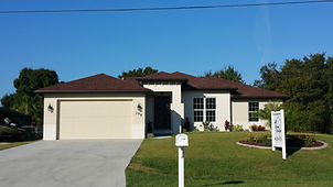 beautiful model home in charlotte county florida on harbor blvd in port charlotte
