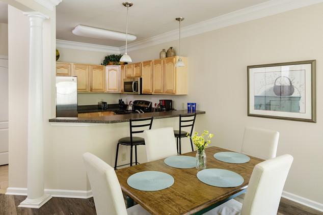 Dining Room/Kitchen of 2-Bedroom