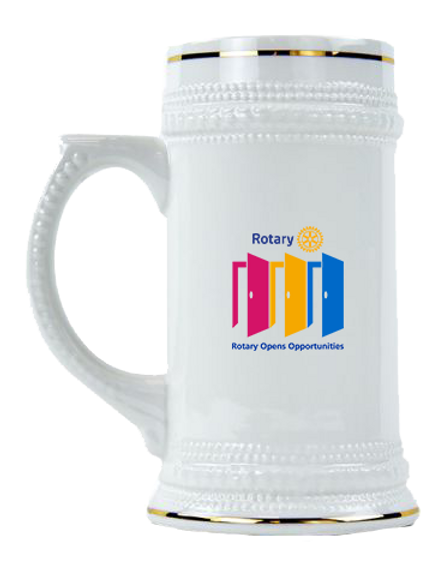 Rotary 20-21 Theme Kerámia Korsó