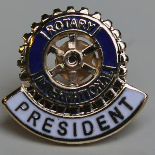 Rotary Elnök Kitűző