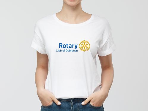 Egyedi Rotary Női póló