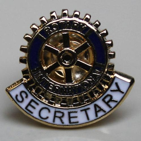 Rotary Titkár Kitűző