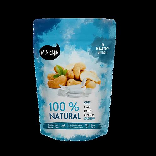 Cashew Ginger Bites