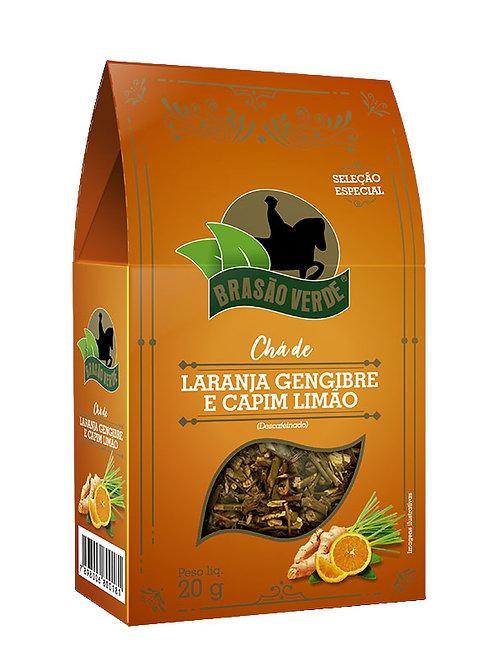 Chá de Laranja,Gengibre e Capim Limão