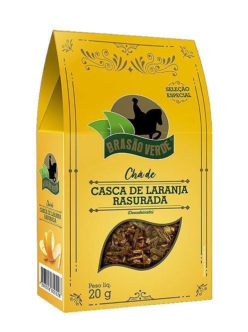 Chá de Casca de Laranja Rasurada