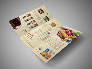 Mídias gráficas e catálogos da Gourmet Brasil