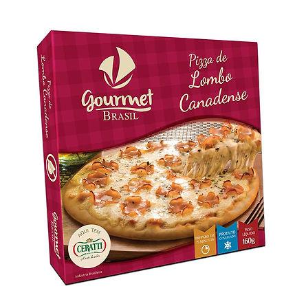 PIZZA ZERO LACTOSE GOURMET BRASIL LOMBO