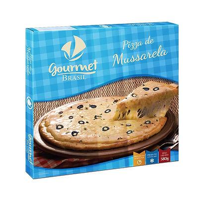 PIZZA ZERO LACTOSE GOURMET BRASIL MUSSAR