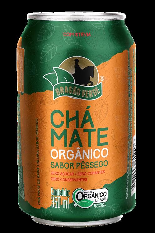 Chá Mate Orgânico Sabor Pêssego (Fardo com 12 unidades)