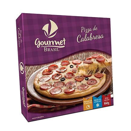 PIZZA ZERO LACTOSE GOURMET BRASIL CALABR