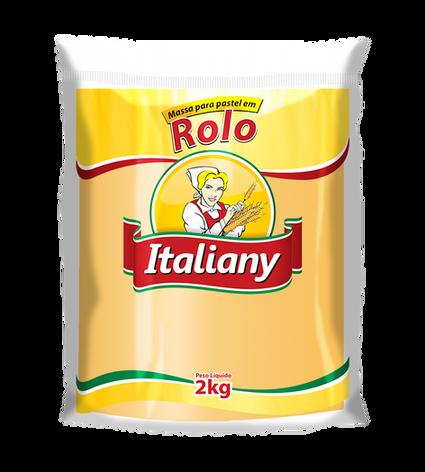 MASSA DE PASTEL EM ROLO - 2 kg