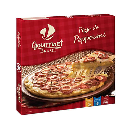 PIZZA ZERO LACTOSE GOURMET BRASIL PEPPER