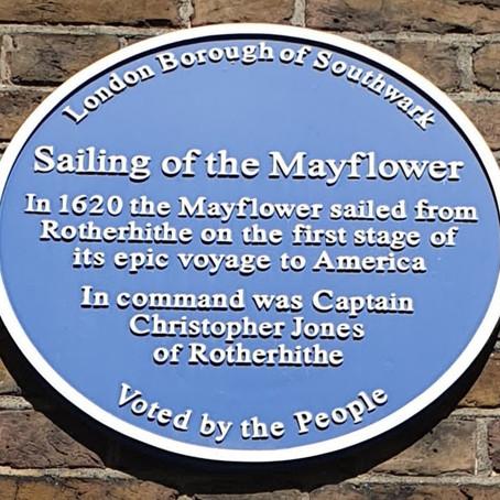Mayflower Origins? Southwark not Plymouth!