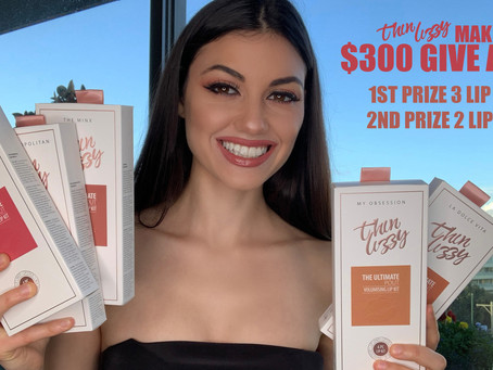 THIN LIZZY LIP KIT REVIEW | $300 GIVE AWAY