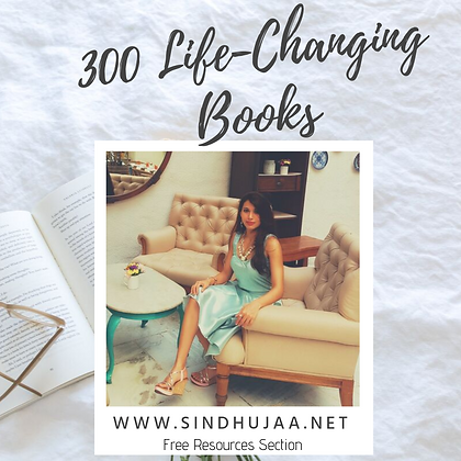 300 Life-Changing Books: FREE