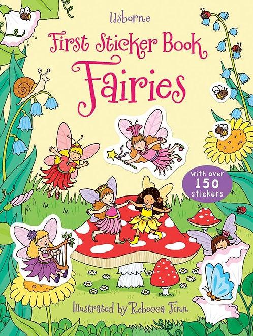 Usborne Stickerbuch Fairies (engl)