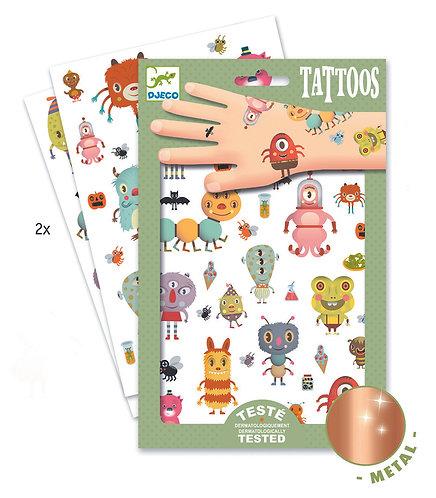 Djeco Tattoos Monster