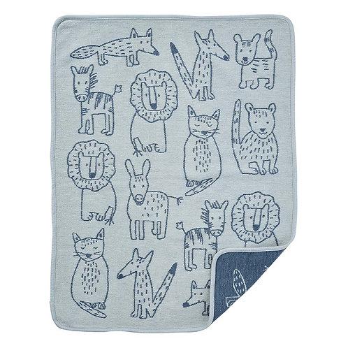 Einzigwert Klippan Blanket Buddies blue 70x90 cm