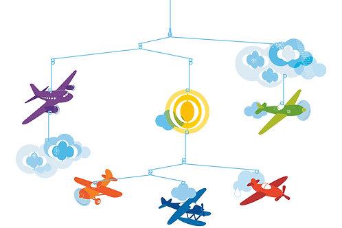 Djeco Mobiles Flugzeuge