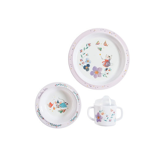 Moulin Roty GESCHIRR SET MELAMINE