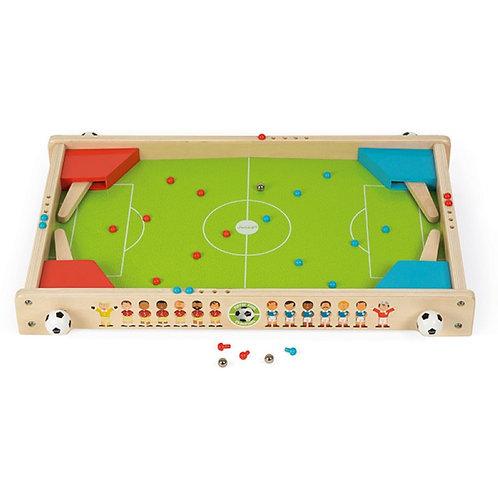 Janod Flipper-Fussball aus Holz 54x37x6.5cm