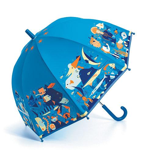 Djeco Regenschirm Unterwasser 70 x 68 cm