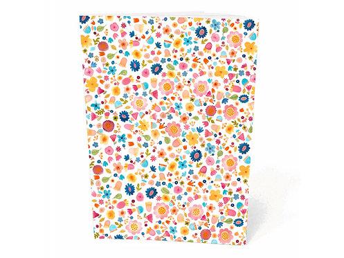 Frau Ottilie Notizbuch *Blüten*