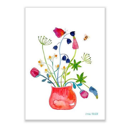 Frau Ottilie Print *Blumenstrauß*