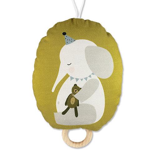 ava&yves Spieluhr Elefant mit Teddy