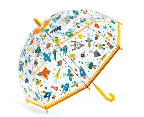 Djeco Regenschirm Weltraum 70 x 68 cm