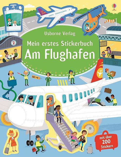 Usborne Mein erstes Stickerbuch: Am Flughafen