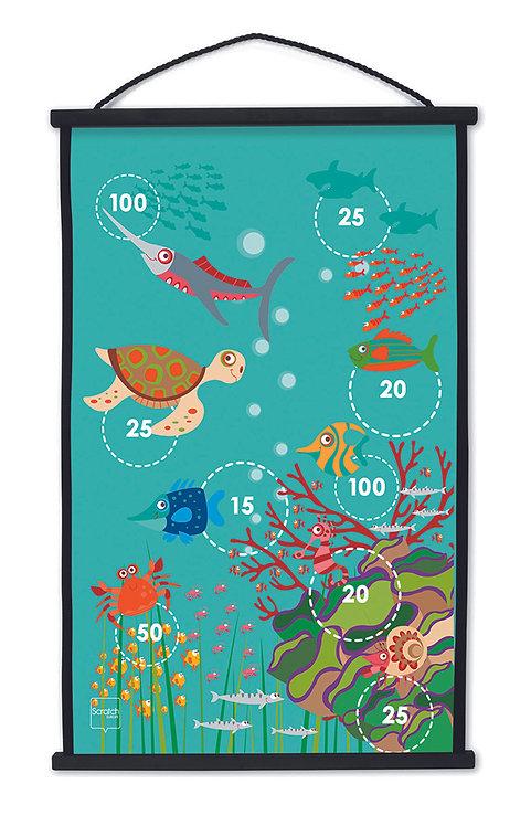 Scratch Dartspiel Korallenriff