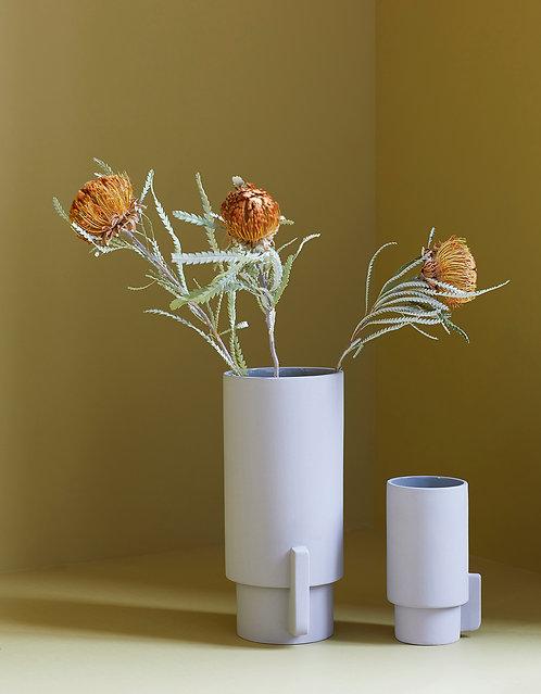 Form & Refine Alcoa Vase, Large, grey