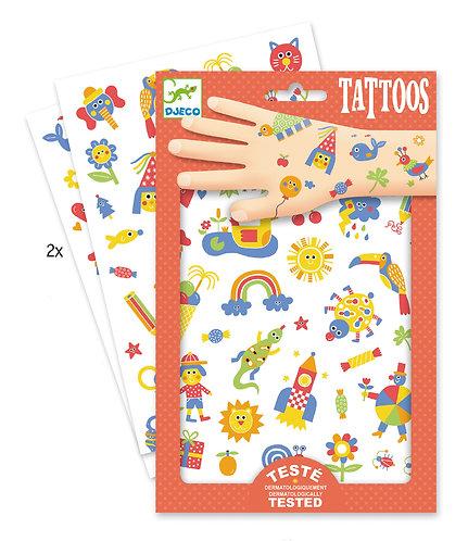 Djeco Tattoos So cute