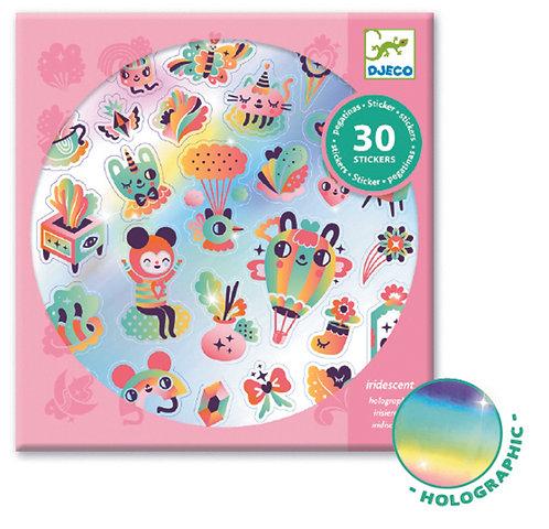 Djeco 30 Sticker Regenbogen