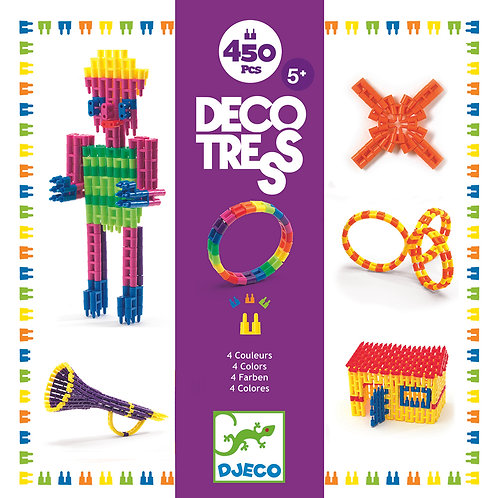 Djeco Deco Tress 450 Teile (inkl. Anleitung)
