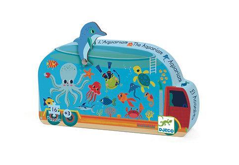 Djeco Puzzle Das Aquarium 16 Teile