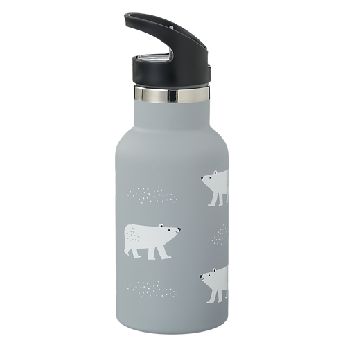 Fresk nordische Thermosflasche Polar bear